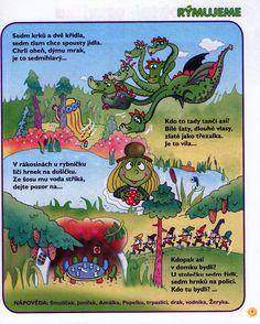 9 - pohadkovy les Freedom Art, Fall Crafts For Kids, Montessori, Fairy Tales, Kindergarten, Preschool, Education, Blog, Speech Language Therapy