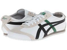 Onitsuka Tiger by Asics Mexico 66® White/Black/Green - Zappos.com Free Shipping BOTH Ways