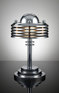 Tynan machine age art deco lamp