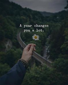 Positive Quotes : A year changes you a lot. - Hall Of Quotes Positive Quotes, Motivational Quotes, Inspirational Quotes, Life Quotes Love, Work Quotes, Attitude Quotes, The Words, Beautiful Words, You Changed