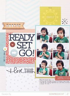 Ready Set Go #layout by Geralyne Sy for @studi