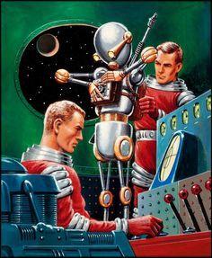 Retro futurismo Sci-Fi | Science Fiction vintage