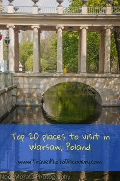 Top 20 places to visit in Warsaw, Poland
