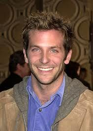 Bradley Cooper.  Eyes and a smile guys...eyes and a smile.  Ya don't need cute lines...ya don't need sharp cars...ya don't even need the uber job...just the twin set that matches...eyes and a smile..we are all yours!