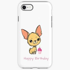 """""""Happy Birthday Chihuahua """" iPhone Case & Cover by jakezbontar 