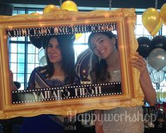 Great gatsby party photo booth