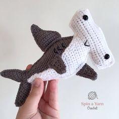 Hammerhead Shark Free Crochet Pattern • Spin a Yarn Crochet