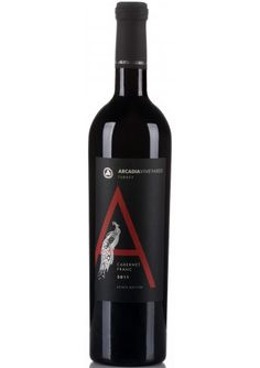 Arcadia 'A' Cabernet Franc - Sweet Spice, Wine And Spirits, Red Wine, Alcoholic Drinks, Bottle, Glass, Food, Drinkware, Flask