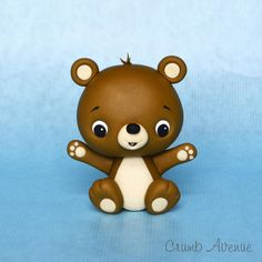 Teddy Topper - Cake by Crumb Avenue