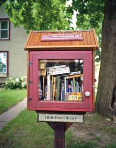 Richard F. Boi Memorial Library, First Little Free Library, Hudson, Wisconsin, 2012 Little Free Library is a community movement in the United States and worldwide started by Todd Boi and now co-directed by Rick Brooks. Boi started the idea as a tribute to his mother, who was a book lover and school teacher. He mounted a wooden container designed to look like a schoolhouse on a post on his lawn. Library owners can create their own library box, usually about the size of a ...
