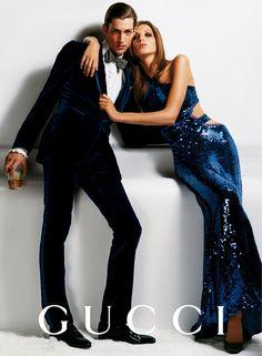 Gucci Fall/Wint 2004 - Maximiliano Patane & Daria Werbowy by Mario Testino Mario Testino, Gucci Ad, Tom Ford Gucci, Gucci Campaign, Campaign Fashion, Daria Werbowy, Haute Couture Style, Trendy Fashion, Fashion Models