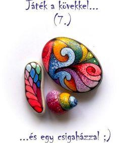 Bemalte Steine, Felsen and Beautiful on Pinterest