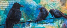 "Kerrie Hubbard; ""Grunge Ravens"""