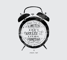 Your Time Is Limited Art Print by Marta Harding Designs | Society6