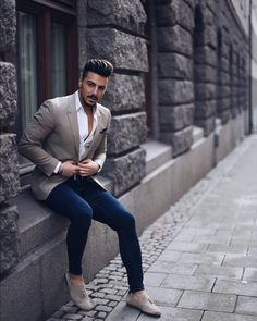Only men's fashion and inspiration.