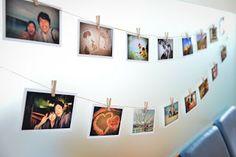写真のガーランド Lian Mariage フリーランスウエディングプランナー: 8月 2013 Wedding Planning, Photo Wall, Profile, Gallery, Book, Frame, Decor, Weddings, User Profile