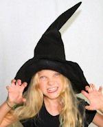 DIY Hexenhut Aleitung für Halloween