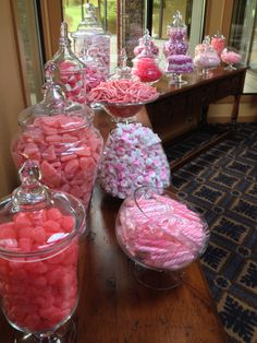 Us at The District love putting together specialized candy bars for your reception!