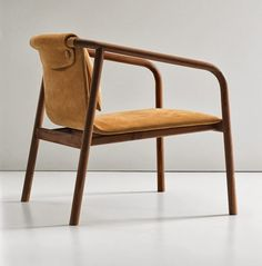 The only preparation for tomorrow is the right use of today.: Oslo Chair by Angell Wyller Aarseth for Bernhardt Design