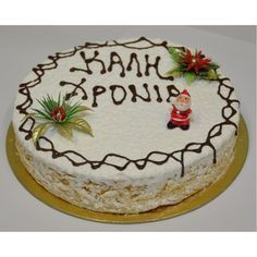 Βασιλοπιτα super Greek Sweets, Greek Desserts, Cookie Desserts, Christmas Mix, Christmas Sweets, Christmas Cooking, Vasilopita Cake, Greek Cake, Greek Cookies