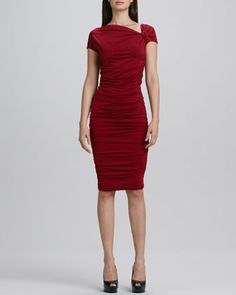 Sheath Dress with Ruching