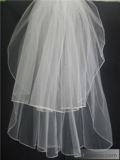 Cute Children Veils with Finished Edege : Tidebuy.com