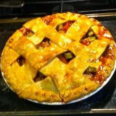 Strawberry-Rhubarb Pie #1
