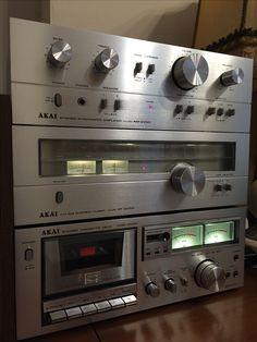 My Akai Hi-Fi system.