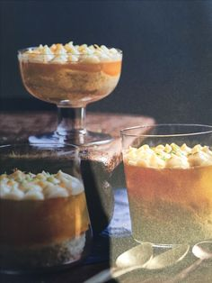 Citrus trifle with lemon curd, lime sponge and orange blossom jelly