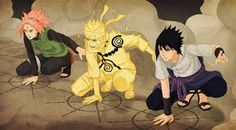 Resultado de imagem para sakura naruto e sasuke