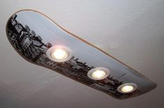 Ceiling lamps - skateboard ceiling lamp berlin - a unique product by haegendas . - Ceiling Lights – Skateboard Ceiling Lamp Berlin – a unique product by haegendas on DaWanda - # Skateboard Lampe, Skateboard Decor, Skateboard Furniture, Skateboard Light, Skateboard Outfits, Ikea Deco, Diy Luminaire, Cool Rooms, Decoration