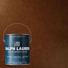 Ralph Lauren 1-gal. Chestnut Antique Leather Specialty Finish Interior Paint-Al13 at The Home Depot. Looks like all the RL is on sale today only for 30% off. I used to do a lot of the Antique Leather, but it is no longer carried in stores that I frequent.