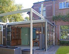 ontwerp aanbouw met industrial look, Zeist   ID-Architectuur