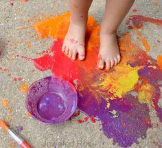 receta de pintura casera