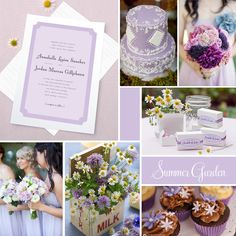Wedding Inspiration: Summer Garden (Lilac) | Evermine Blog | www.evermine.com