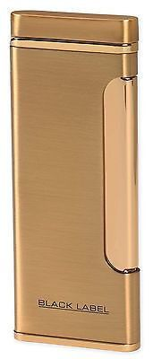 NEW BLACK LABEL by LOTUS - STANLEY WINDPROOF COIL FLAME CIGAR LIGHTER-GOLD!! Black Label is an innovative collection of distinctive smoking accessories, featuring stylish carbon fiber and copper accents for the finest look for a night on the town. Two-year limited warranty Hurry up! 100% Guaranteed product available here. #cigarlighter   #smoking Visit Our Website:-