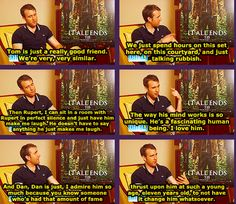 Matthew Lewis on Tom Felton, Rupert Grint, and Daniel Radcliffe
