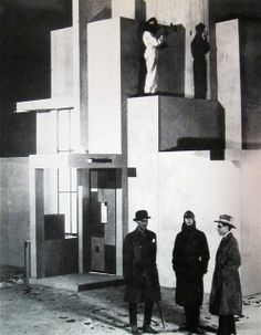 Robert Mallet-Stevens and Fernand Léger, modernist set designs for the film L'Inhumaine (1924) de Marcel L'herbier