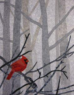 red bird quilt