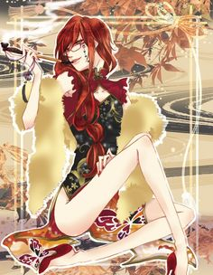 Grell Sutcliff-yet another anime man who's more gorgeous as a woman than i am!