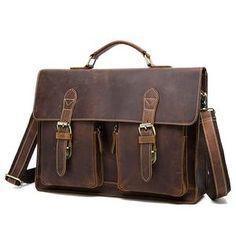da8df3107aec MVA Men Briefcase Crazy Horse Leather Handbags Office Bags for Mens  Messenger Bag Men Laptop Bag