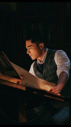 The Great Craftsman (筑梦情缘) - Wallace Huo Wallace Huo, Taiwan Drama, Action Film, Period Dramas, Korean Actors, Beautiful Creatures, Korean Drama, Male Models, China