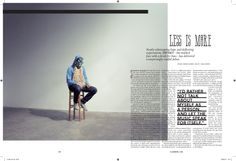 Magazine Feature Layouts - Paul Sethi / Design and Art Direction