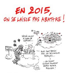 Dessin de Jacques Lucchino #JeSuisCharlie #CharlieHebdo #NousSommesCharlie