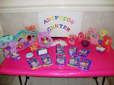 """""""Adoption Center"""" - Girls could pick out their own pet."""