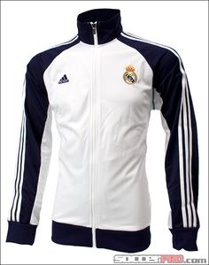 adidas Real Madrid Core Track Top - White with Noble Ink...$58.49