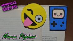 ♥ Tutorial: Marca Páginas de Goma Eva (Foamy) y cartulina ♥