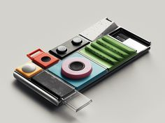Wild Concept Sensors for Google's Modular Phone | Lapka, a company specializing in design-forward sensor-driven hardware, has created a concept line for Google's modular smartphone.  | Credit: Lapka | From Wired.com