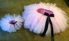 Mother daughter matching tutus WITH ribbon. Mommy and me. Photo shoot tutus. Adult and child tutu. Adorable tutus for any occasions!