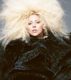 Lady Gaga in Alexander McQueen by Mert & Marcu for Vogue September 2012.